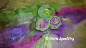 Nuno Felt Wrap or Scarf by Marie Spaulding of Living Felt