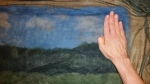 Tutorial Felting a Picture Landscape & Longhorn Progress Pics by Marie Spaulding, Founder of Living Felt Felting Supplies