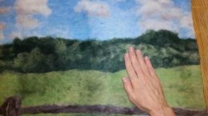 Tutorial Felting a Picture Landscape & Longhorn Progress Pics by Marie Spaulding, Founder of Living Felt Felting Supplies