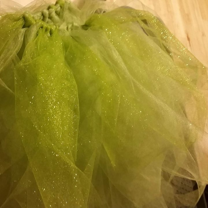 no sew tutu for adult fairy costume by Marie Spaulidng of Living Felt